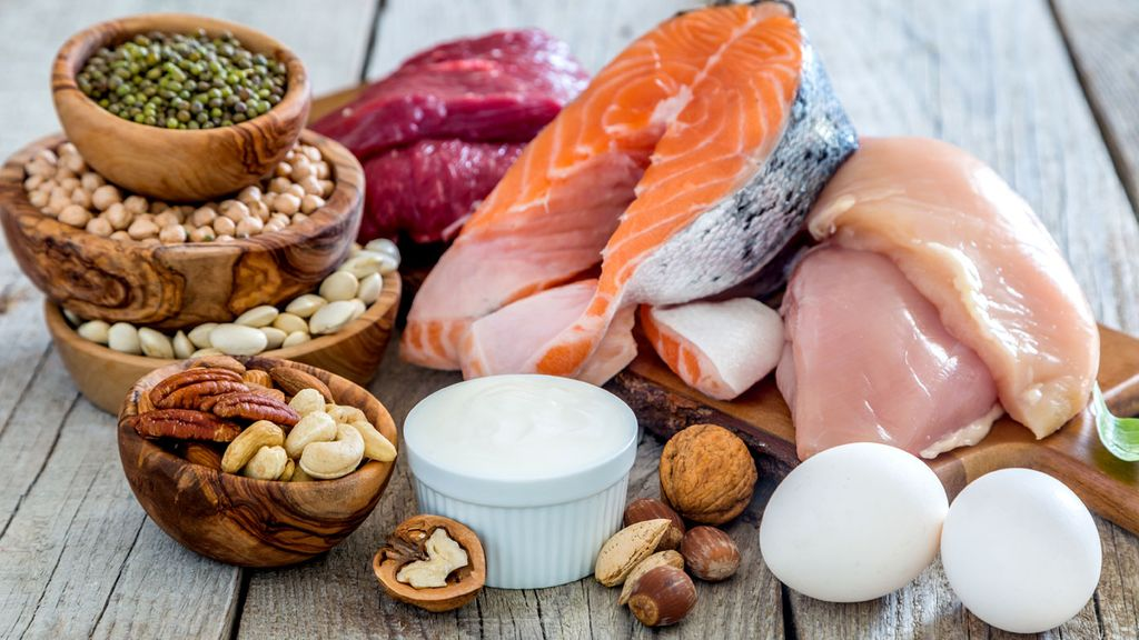 Proteínas para musculação